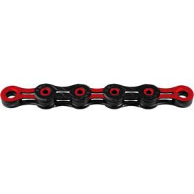 KMC X-11 SL DLC Łańcuch rowerowy 10-rzędowy czerwony/czarny